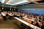 """Colloque PARLE PARLE, JASE JASE 2009 : """"Les relations publiques : Une question d'audace ! """" organisé par les jeunes professionnels de la société québécoise des professionnels en relations publiques à  Centre Mont-Royal / Montreal / Canada / 2009-03-14, © Photo Marc Gibert / adecom.ca"""