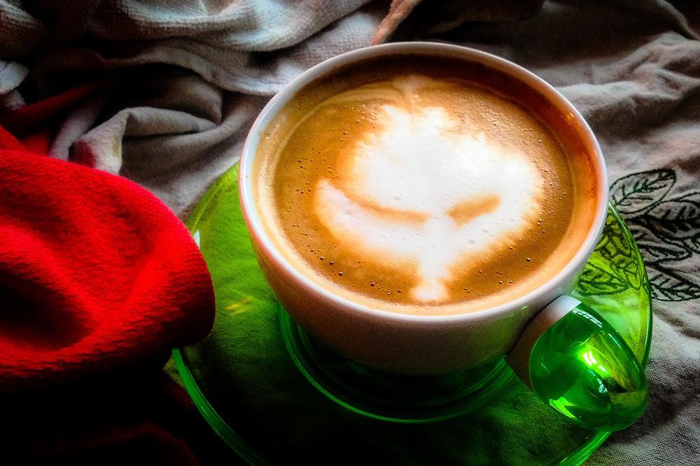 Cafe Latte Art, Rose