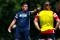 Director of Rugby Pat Lam as Bristol Bears train and prepare for the 2018/19 Gallagher Premiership Rugby Season - Mandatory by-line: Robbie Stephenson/JMP - 16/07/2018 - RUGBY - Clifton Rugby Club - Bristol, England - Bristol Bears Training