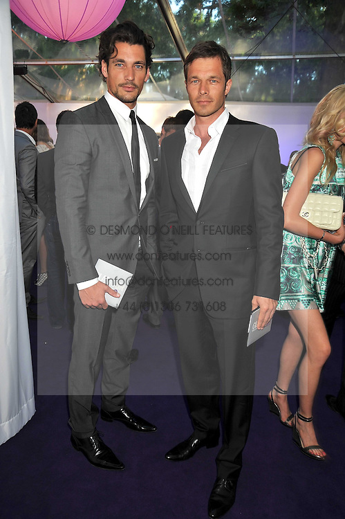 DAVID GANDY and PAUL SCLUFOR at the 2009 Glamour Magazine Awards held in Berkeley Square, London on 2nd June 2009.