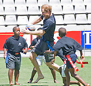 Prince Harry Training Session Sharks Rugby