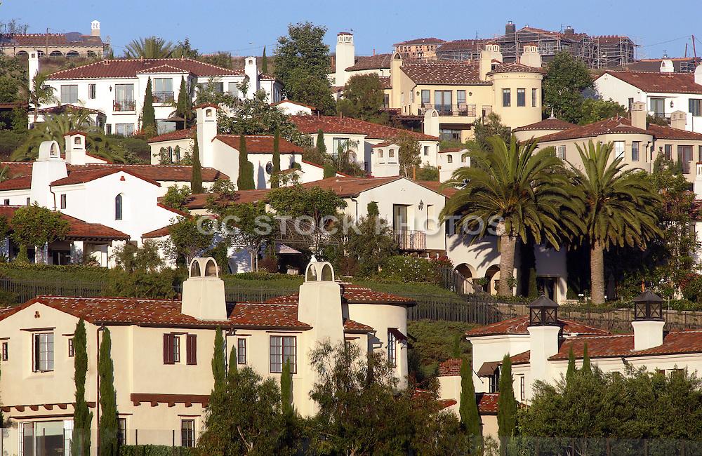Newport Beach Neighborhood On The Hills