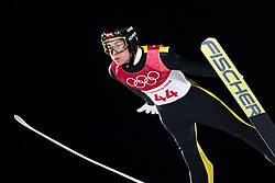 February 17, 2018 - Pyeongchang, SOUTH KOREA - 180217 Stefan Kraft of Austria in the men's large hill individual final during day eight of the 2018 Winter Olympics on February 17, 2018 in Pyeongchang..Photo: Carl Sandin / BILDBYRÃ…N / kod CS / 57999_303 (Credit Image: © Carl Sandin/Bildbyran via ZUMA Press)