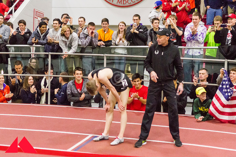 Galen Rupp set American record in 2-Mile at BU Terrier Classic Indoor Track, Rupp recovers as coash Alberto Salazar attends