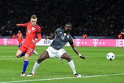 England's Jamie Vardy scores his sides second goal - Mandatory by-line: Matt McNulty/JMP - 26/03/2016 - FOOTBALL - Olympiastadion - Berlin, Germany - Germany v England - International Friendly