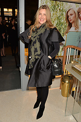 GEORGINA KRON at the launch of the new J&M Davidson flagship shop at 104 Mount Street, London on 3rd February 2016.