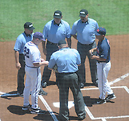 Ole Miss vs. TCU in an NCAA Regional Game at College Station, Texas on Friday, June 1, 2012. Ole Miss won 6-2.