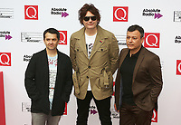 Manic Street Preachers, The Q Awards 2017 - Red Carpet Arrivals, Roundhouse, London UK, 18 October 2017, Photo by Brett D. Cove