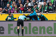 Borussia Monchengladbach and Hannover 96 - 30 September 2017