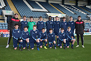 The Monifieth High side who faced St Johns in the Urquart Trophy final at Dens Park, Dundee, Photo: David Young<br /> <br />  - &copy; David Young - www.davidyoungphoto.co.uk - email: davidyoungphoto@gmail.com