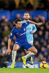 December 8, 2018 - London, Greater London, England - Pedro of Chelsea during the Premier League match between Chelsea and Manchester City at Stamford Bridge, London, England on 8 December 2018. (Credit Image: © AFP7 via ZUMA Wire)