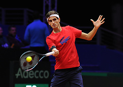 November 22, 2018 - France - Finale Coupe Davis 2018 - Herbert of France (Credit Image: © Panoramic via ZUMA Press)