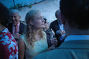 Molly Guinness, Spectator party. Doughty St. London. 28 July 2005. ONE TIME USE ONLY - DO NOT ARCHIVE  © Copyright Photograph by Dafydd Jones 66 Stockwell Park Rd. London SW9 0DA Tel 020 7733 0108 www.dafjones.com
