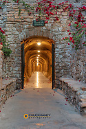 Tunnel entrance at the Inn at Death Valley in Death Valley National Park, California, USA