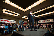 Republican presidential candidate, Sen. Marco Rubio, speaks during a campaign stop in Dallas, Texas on January 6, 2016. (Cooper Neill for The Texas Tribune)