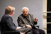 DEU, Deutschland, Germany, Berlin, 18.10.2017: Der Historiker Prof. Dr. Saul Friedländer bei einer Veranstaltung der Friedrich Ebert Stiftung.