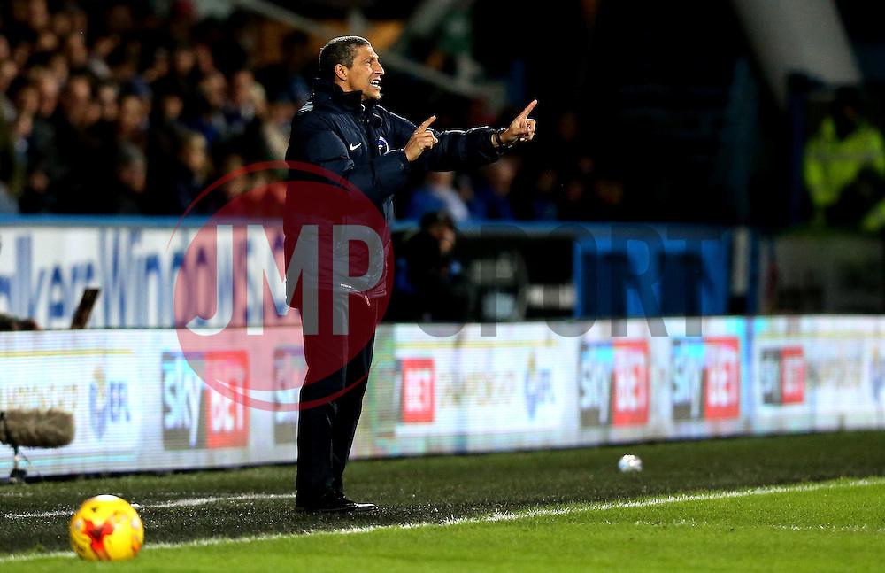 Brighton & Hove Albion Manager Chris Hughton - Mandatory by-line: Robbie Stephenson/JMP - 02/02/2017 - FOOTBALL - John Smith's Stadium - Huddersfield, England - Huddersfield Town v Brighton and Hove Albion - Sky Bet Championship