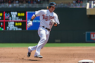 Chris Herrmann #12 of the Minnesota Twins rounds 3rd base against the Seattle Mariners on June 2, 2013 at Target Field in Minneapolis, Minnesota.  The Twins defeated the Mariners 10 to 0.  Photo: Ben Krause