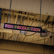 The entry sign to the Fox Production Facilities.