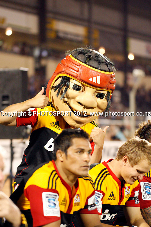 Little Chief  during their game at Baypark Stadium, Mt Maunganui, New Zealand. Friday,16 March 2012. Photo: Dion Mellow/photosport.co.nz