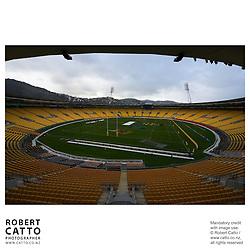 British & Irish Lions v. Wellington Lions Match at the Westpac Stadium, Wellington, New Zealand.<br />