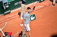 Novak DJOKOVIC - 23.05.2015 - Tennis - Journee des enfants - Roland Garros 2015<br /> Photo : David Winter / Icon Sport