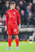 Bayern Munich midfielder Philippe Coutinho (10) during the Champions League match between Tottenham Hotspur and Bayern Munich at Tottenham Hotspur Stadium, London, United Kingdom on 1 October 2019.