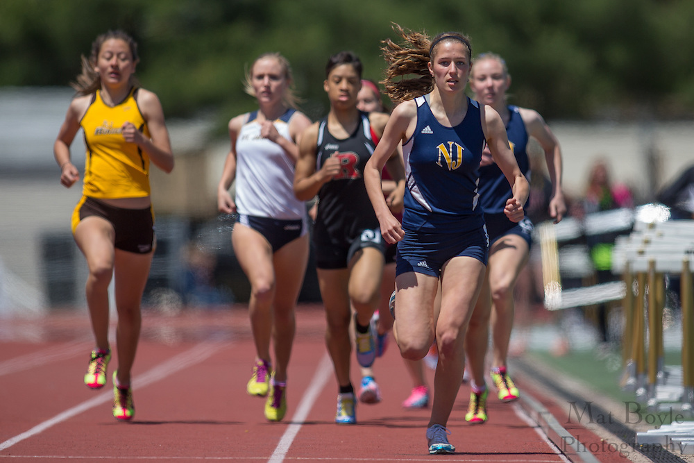 Women's 800 meters at the NJAC Track and Field Championships at Richard Wacker Stadium on the campus of  Rowan University  in Glassboro, NJ on Sunday May 5, 2013. (photo / Mat Boyle)