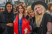 VV Brown, Kate Nash, Emelie Snade and Natasha Bedingfield - Thousands join CARE International's #March4Women campaign in London celebrating International Women's Day.