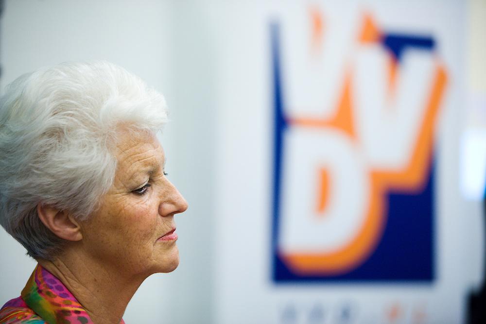 Nederland. Den Haag, 13 juni 2007.<br /> Sybilla Dekker tijdens de presenatie van het rapport van de commissie Dekker.<br /> Foto Martijn Beekman <br /> NIET VOOR TROUW, AD, TELEGRAAF, NRC EN HET PAROOL