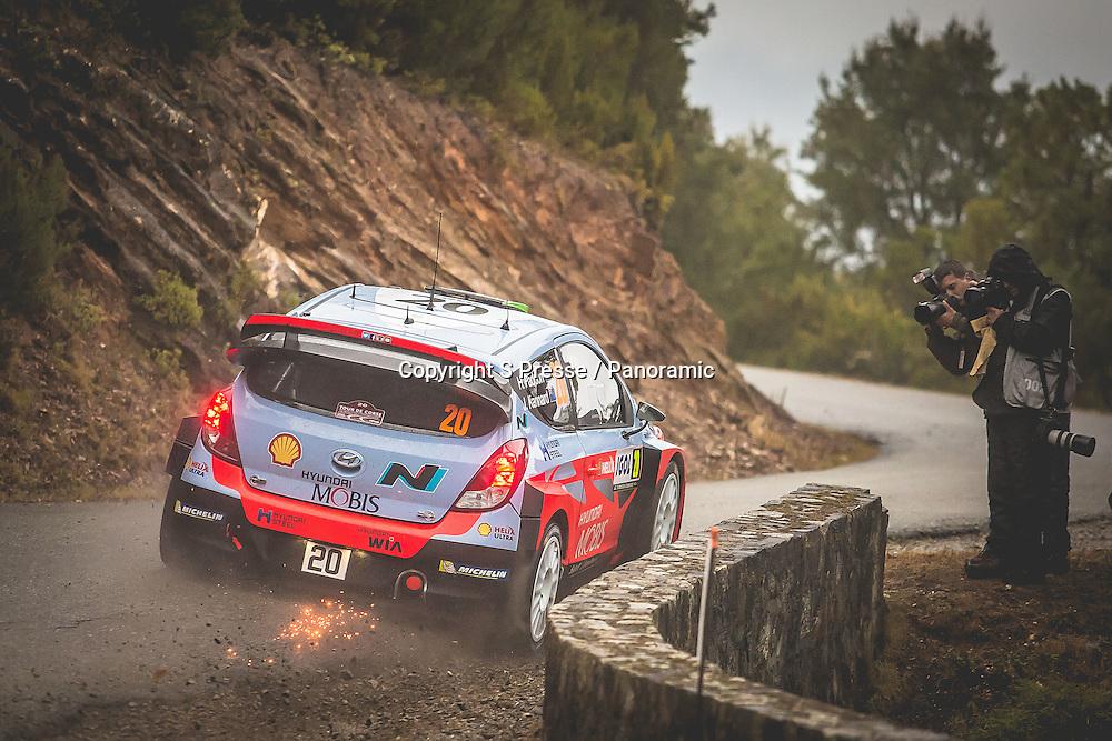 Hayden Paddon (NZ)- Kennard (NZ) Hyundai I20 WRC