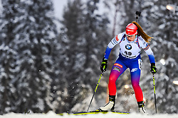 March 8, 2019 - –Stersund, Sweden - 190308 Paulina Fialkova of Slovakia competes in the Women's 7.5 KM sprint during the IBU World Championships Biathlon on March 8, 2019 in Östersund..Photo: Petter Arvidson / BILDBYRÃ…N / kod PA / 92247 (Credit Image: © Petter Arvidson/Bildbyran via ZUMA Press)