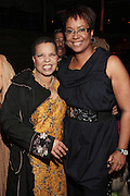 28 April 2011- New York,  NY-  l to r: Ntozake Shange and Harriette Cole at The Sparkling Celebration for the Birthday of Harriette Cole held at the Galapagos Art Space on April 27, 2011 in Brooklyn, NY Photo Credit: Terrence Jennings