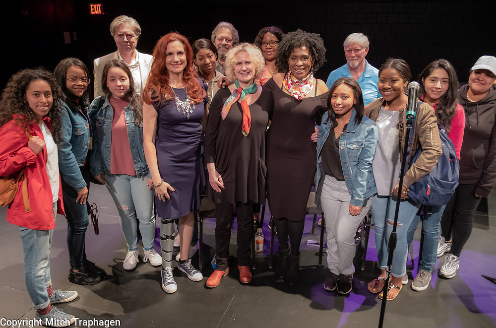 "Artists Without Walls, in conjunction with Lehman College's City and Humanities Program, presents ""Women Who Have Overcome,"" a discussion with three women who, despite being presented with major obstacles at different points during their lives, have gone onto successful careers in the arts and education. May 10, 2018."