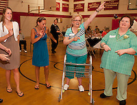 Laconia High School Senior Senior Dance co sponsored by Laconia Parks and Recreation.  (Karen Bobotas/for the Laconia Daily Sun)
