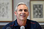 Somerset director of cricket Andy Hurry at the media day at Somerset County Cricket Club at the Cooper Associates County Ground, Taunton, United Kingdom on 11 April 2018. Picture by Graham Hunt.