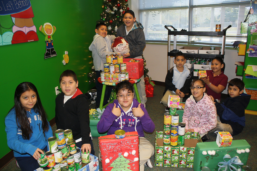 Bonner ES students collected enough canned goods in October an November to provide Thanksgiving and Christmas meals for more than 20 families.<br />