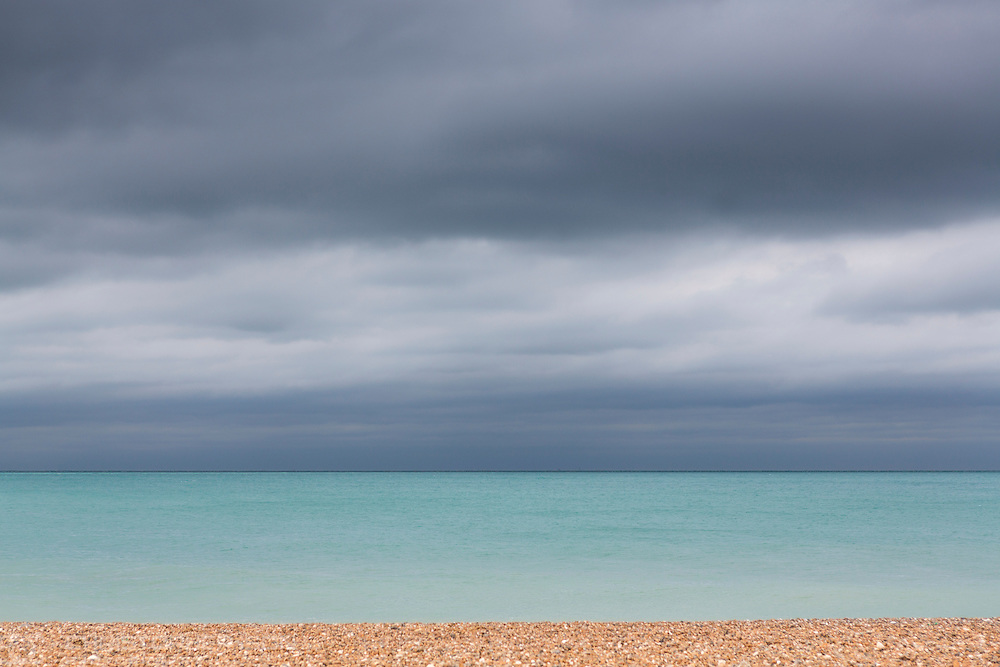 The English Channel at Worthing.<br /> Picture date: Saturday September 17, 2016.<br /> Photograph by Christopher Ison &copy;<br /> 07544044177<br /> chris@christopherison.com<br /> www.christopherison.com