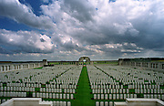 Somme Battlefield, France. POZIERES BRITISH CEMETERY, OVILLERS-LA BOISSELLE<br />