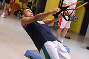 Stefano Tonut<br /> Raduno Nazionale Italiana Maschile Senior - Allenamento in Sala pesi<br /> FIP 2017<br /> Folgaria, 26/07/2017<br /> Foto M.Ceretti / Ciamillo-Castoria