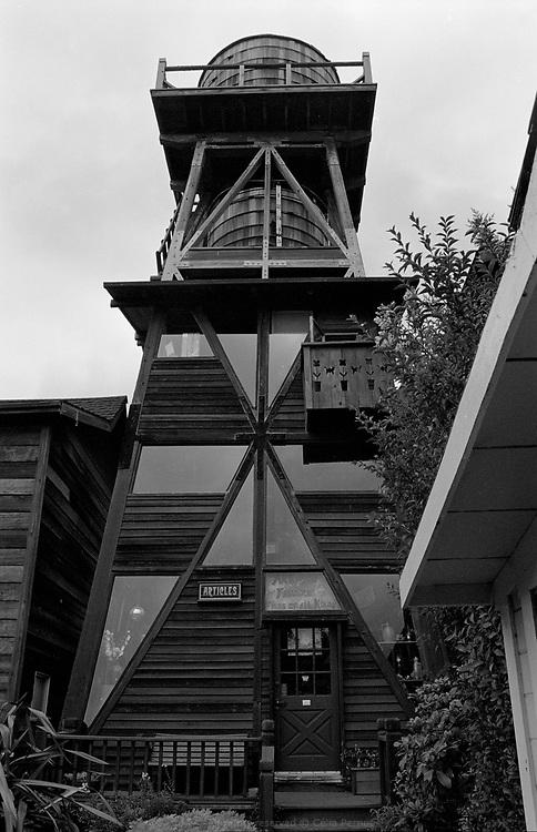 Water tower, Mendocino