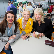 14.06.2018.             <br /> Limerick Food Group hosted the Urban Food Fest street food evening in the Milk Market on Thursday June 14th with a 'Summer Fiesta' theme in one big Limerick city summer party.<br /> <br /> Pictured at the event were, Maree Smyth, Daphne Greene and Lorna Clancy. Picture: Alan Place
