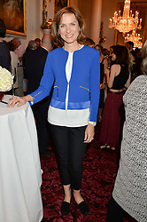FIONA BRUCE at the Audi Ballet Evening at The Royal Opera House, Covent Garden, London on 23rd April 2015.