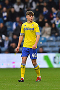 Leif Davis (40) of Leeds United during the The FA Cup 3rd round match between Queens Park Rangers and Leeds United at the Loftus Road Stadium, London, England on 6 January 2019.