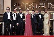 "Cannes,24.05.2012: JOHN CUSACK, MATHEW McCONAUGHEY, DAVID OYELOWO, NICOLE KIDMAN, ZAC EFRON, LEE DANIELS AND MACY GRAY.at ""The Paperboy""  premiere, 65th Cannes International Film Festival..Mandatory Credit Photos: ©Traverso-Photofile/NEWSPIX INTERNATIONAL..**ALL FEES PAYABLE TO: ""NEWSPIX INTERNATIONAL""**..PHOTO CREDIT MANDATORY!!: NEWSPIX INTERNATIONAL(Failure to credit will incur a surcharge of 100% of reproduction fees)..IMMEDIATE CONFIRMATION OF USAGE REQUIRED:.Newspix International, 31 Chinnery Hill, Bishop's Stortford, ENGLAND CM23 3PS.Tel:+441279 324672  ; Fax: +441279656877.Mobile:  0777568 1153.e-mail: info@newspixinternational.co.uk"
