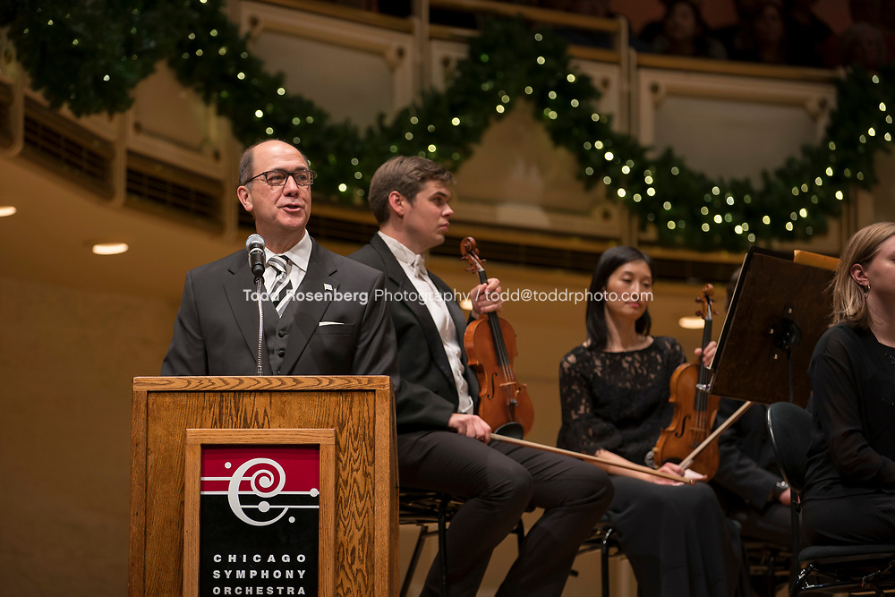 12/30/17 2:33:06 PM -- Chicago, IL, USA<br /> Attila Glatz Concert Productions' &quot;A Salute to Vienna&quot; at Orchestra Hall in Symphony Center. Featuring the Chicago Philharmonic <br /> <br /> &copy; Todd Rosenberg Photography 2017