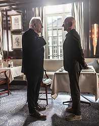 RELEASE DATE: February 3, 2017 TITLE: Collide STUDIO: Open Road Films DIRECTOR: Eran Creevy PLOT: An American backpacker gets involved with a ring of drug smugglers as their driver, though he winds up on the run from his employers across Cologne high-speed Autobahn STARRING: Anthony Hopkins as Hagen Kahl, Ben Kingsley as Geran(Credit: