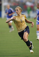 25 August 2007: Lindsay Tarpley. The United States Women's National Team defeated the Women's National Team of Finland 4-0 at the Home Depot Center in Carson, California in an International Friendly soccer match.