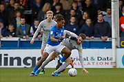 Peterborough United forward Ivan Toney (17) in action  during the EFL Sky Bet League 1 match between Peterborough United and Portsmouth at London Road, Peterborough, England on 7 March 2020.