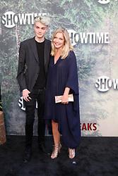 May 19, 2017 - Los Angeles, CA, USA - LOS ANGELES - MAY 19:  Elijah Diamond, Sheryl Lee at the ''Twin Peaks'' Premiere Screening at The Theater at Ace Hotel on May 19, 2017 in Los Angeles, CA (Credit Image: © Kay Blake via ZUMA Wire)
